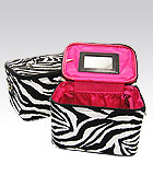 2 Zebra Cases Pink Inside