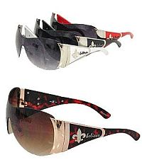 "Rhinestone ""Believe"" Fleur De Li's Sunglasses            #YKT-SUND1820FD"