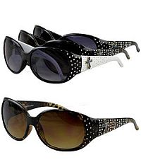 Small Rhinestone Cross Sunglasses          #YKTSUND1890