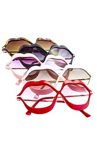 Colored Shaped Lip Sunglasses                             #FG-lipcolor
