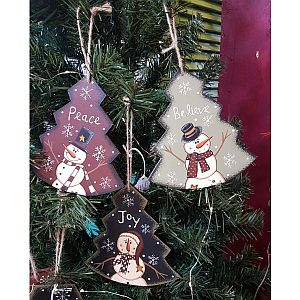 Hand Painted Tree Ornaments              #TREE