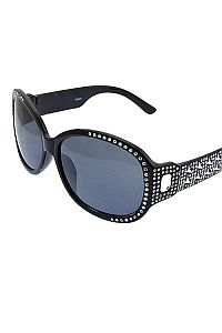 Clear Rhinestone Star Sunglasses         #O-clear-JSE-3625