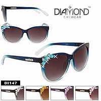 Rhinestone Bling Diamond Sunglasses    #CTSW-DI147
