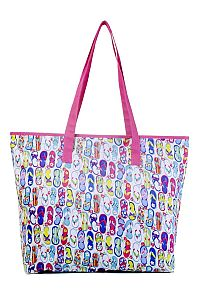 Multiple Flip Flop Tote Bag   #FG-FlipTote