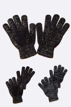 Silver or Gold Bling Winter Gloves   #BLINGGLOVES
