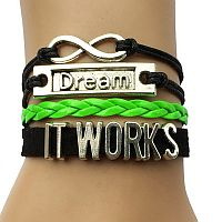 It Works Green & Black Dream Bracelet   #2ItWorks