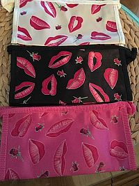 Lips & Roses Cosmetic Bags    #WFI-ELIPROSES