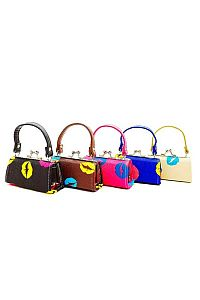 Bold Lip Print Mini Purses                        #FG-Slipmini