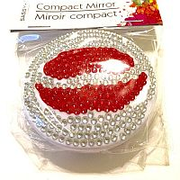 Cosmetic Lip Compact Mirror               #DT-LipMirror