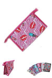 Zebra Print Lipstick Lip Cosmetic Bags         #FGW-zebra