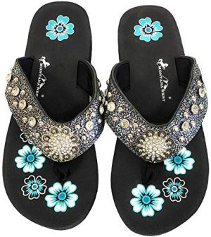 New Speckled Montana West Flat thin Flip Flops #MW-SPECKLED8