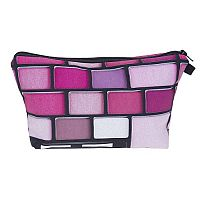 Purple & Pink Eyeshadow Palette Cosmetic Bag     #CH-palettebag