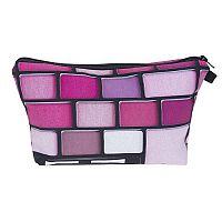 Purple & Pink Eyeshadow Palette Cosmetic Bag     #CH-palettebag