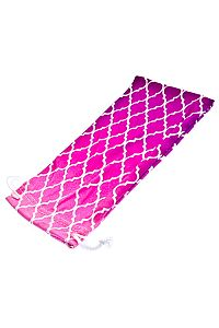 Hot Pink Purple Design Fabric Sunglass Holder      O-pinkpurple