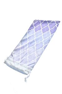 Ombre Lavender Purple Fabric Sunglass Holder       O-purpleombre