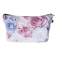 Watercolor Roses Cosmetic Bag   #CH-ROSES