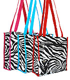 Zebra Print Shoulder Bags