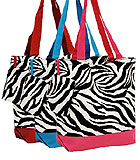 Zebra Print Bags & Coin Purse